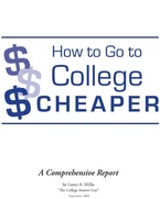 How to Go to College Cheaper book